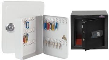 Schlüsselschränke und Safes