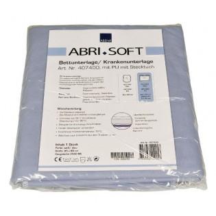 Bettschutzunterlage Abri-Soft mit Flügeln 85 x 90 cm blau