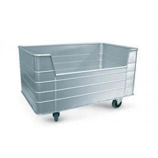 216 Wäschecontainer mit trapezförmiger Halböffnung
