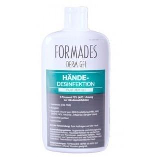 FORMADES DERM GEL - Händedesinfektion - parfümfrei - 20 x 150 ml