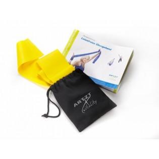 ARTZT vitality Latexfree Übungsband, 2,5 m, leicht/gelb inkl. Tasche