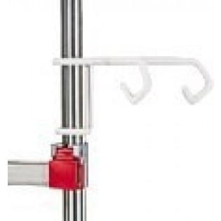 Halterungsklammer für Doppel-Infusionsflaschen