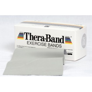Thera-Band Übungsband, 5,5 m, superstark/silber
