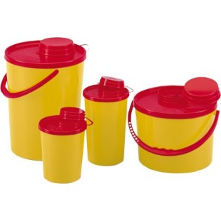 PBS15 Runder Nadelcontainer - 1,5 l
