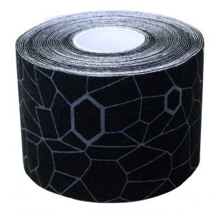 Thera-Band Kinesiology Tape, 5 m, schwarz/grau