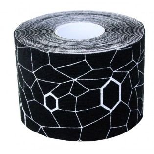 Thera-Band Kinesiology Tape, 5 m, schwarz/weiß