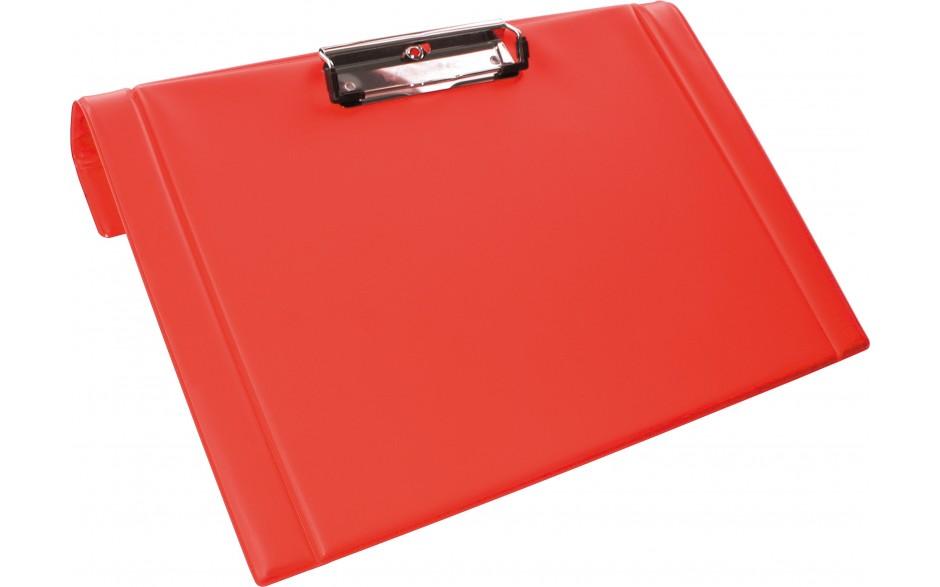 Clipboard mit Halter für Bettrahmen, rot
