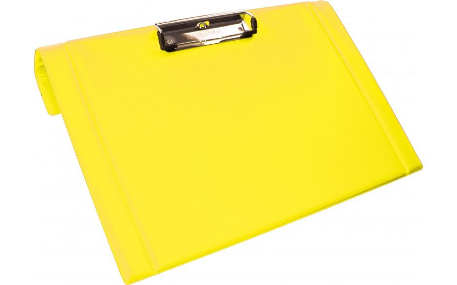 Clipboard mit Halter für Bettrahmen, gelb