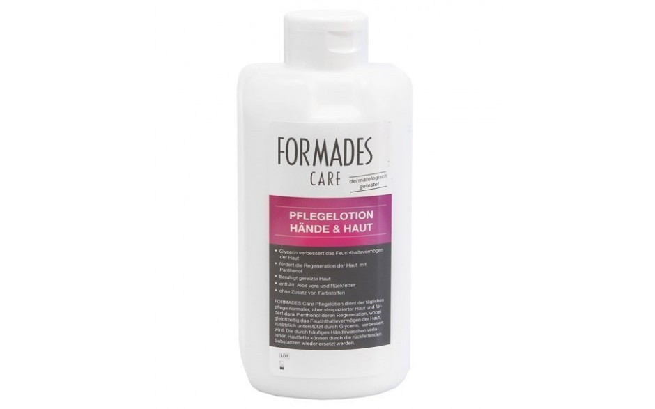 Formades CARE - Pflegelotion Hände & Haut - 20 x 500 ml