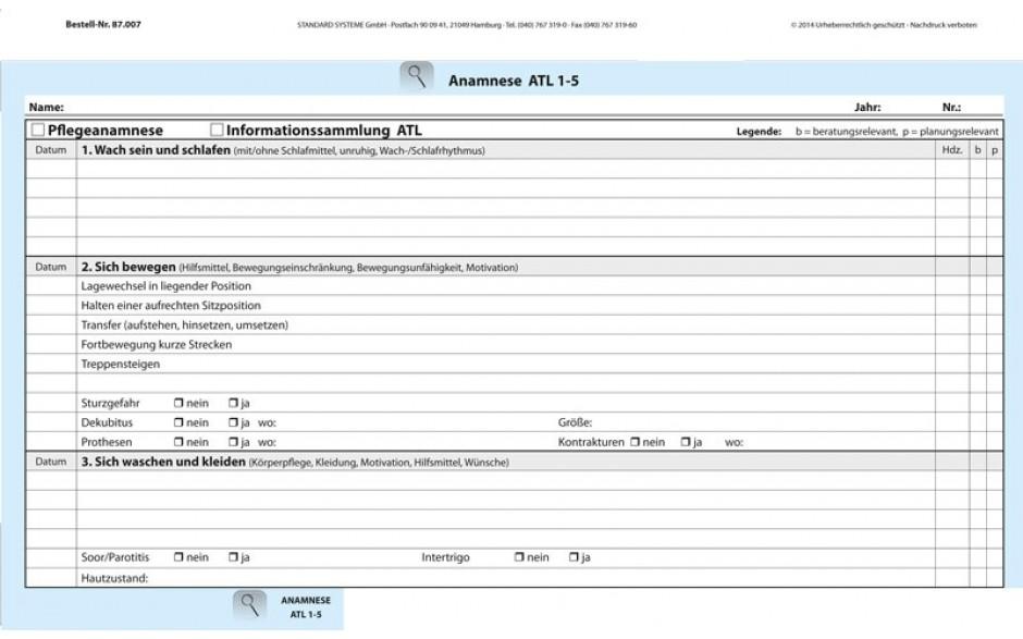87.007 Anamnese ATL 1-5