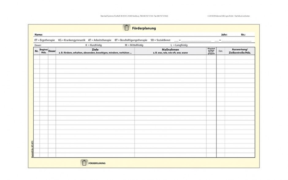 87.071 Förderplanung Seite 1