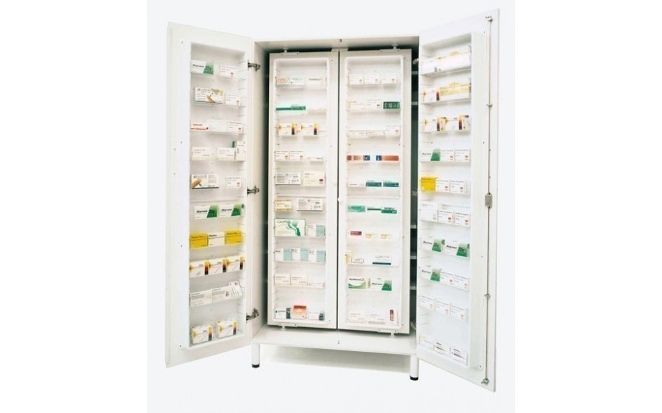 Medikations- und Medikamentenschränke mit 60 einstellbaren Innenfächern