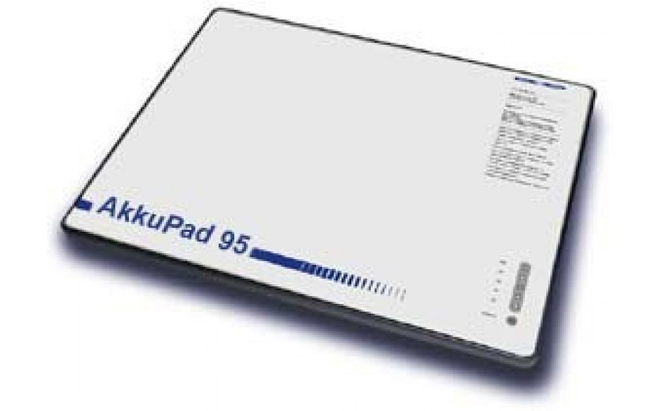 Akkupad mit 160 Wh in Form eines Mousepads