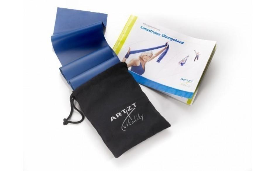 ARTZT vitality Latexfree Übungsband, 2,5 m, extrastark/blau