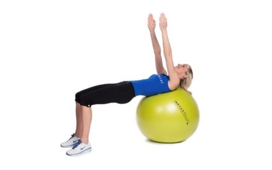 ARTZT vitality Fitness-Ball Standard - Übungsbeispiel 2
