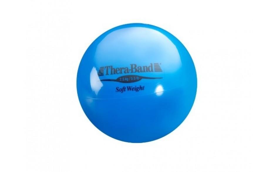 Thera-Band Soft Weight Gewichtsball, 2,5 kg/blau