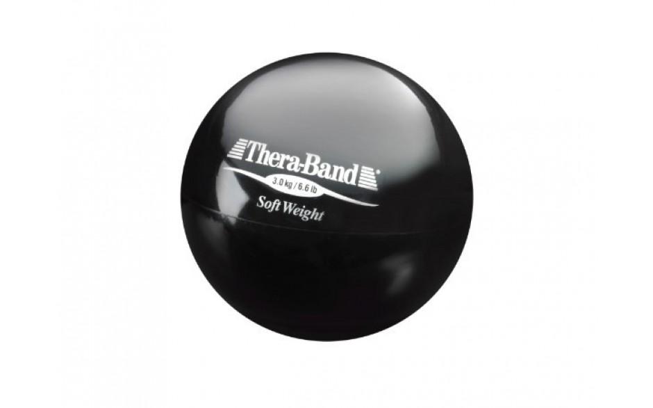 Thera-Band Soft Weight Gewichtsball, 3,0 kg/schwarz