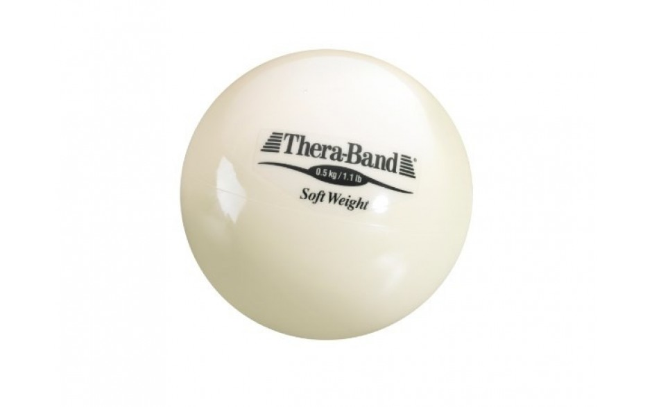 Thera-Band Soft Weight Gewichtsball, 0,5 kg/beige
