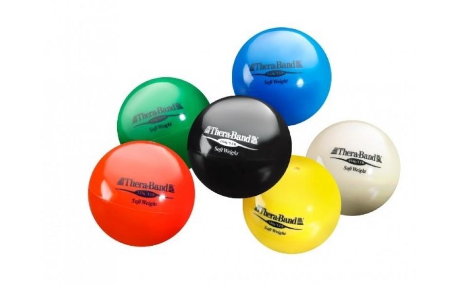Thera-Band Soft Weight Gewichtsbälle in 6 Gewichtsvarianten