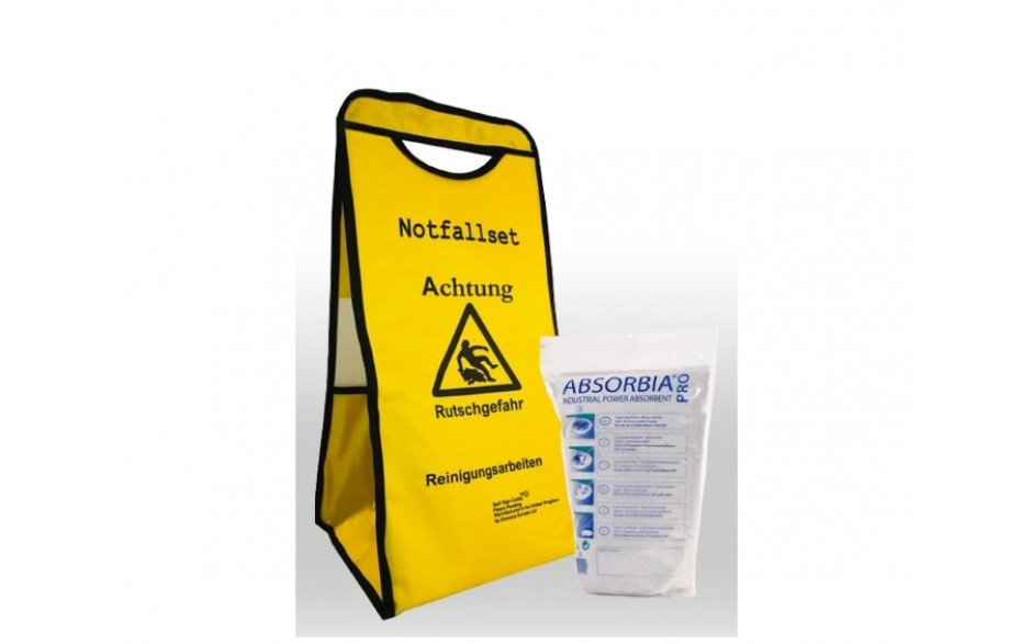 Absorbia Pro Starterkit Notfallset inkl. 6 x 5 l PET Beutel