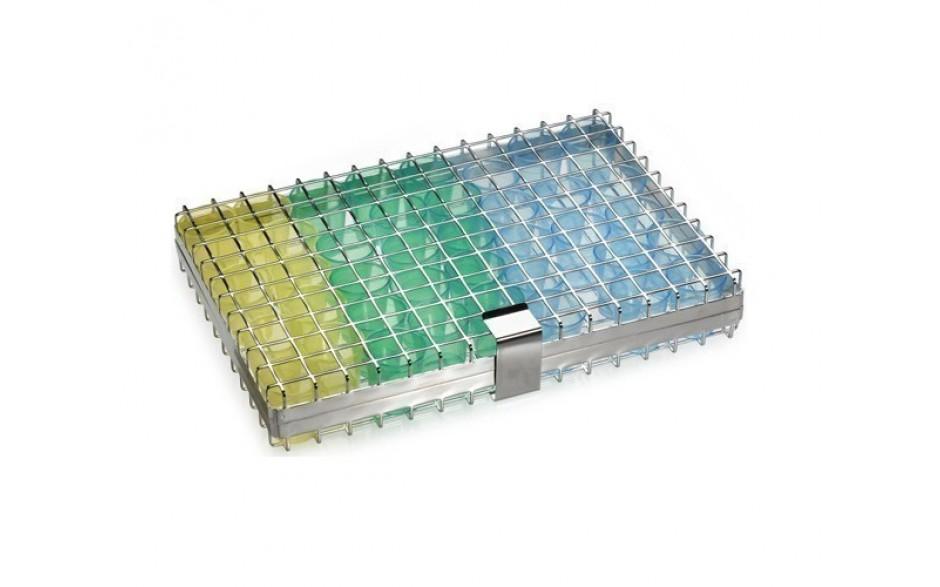 CESPBI Edelstahlgitterbox zur Reinigung der PBI Becher