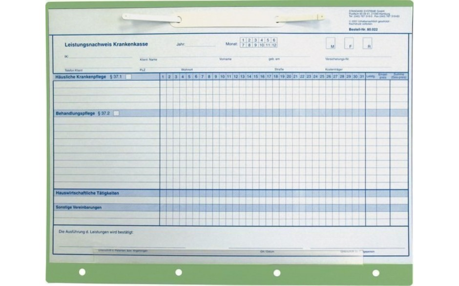 ELT-PP Einlegetafel