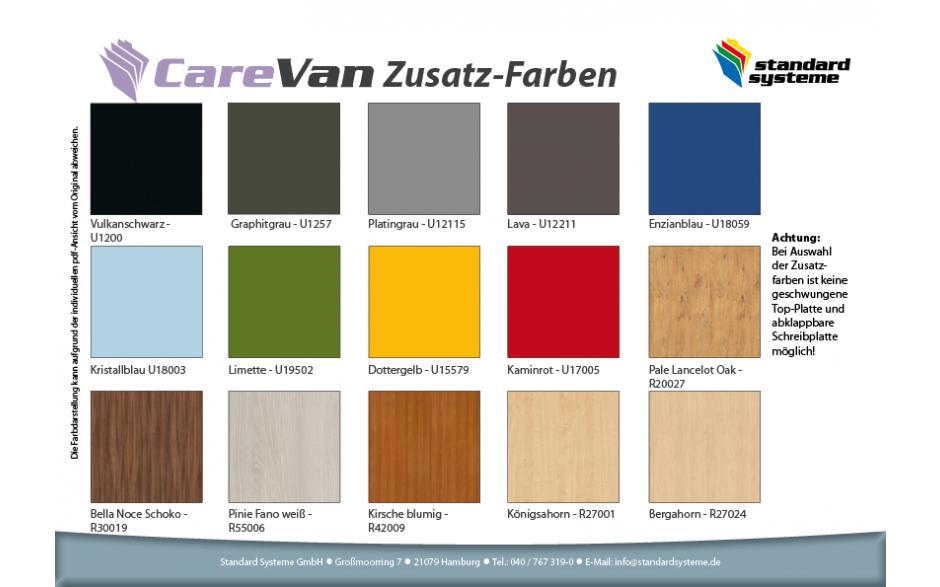 CareVan Zusatz-Farben