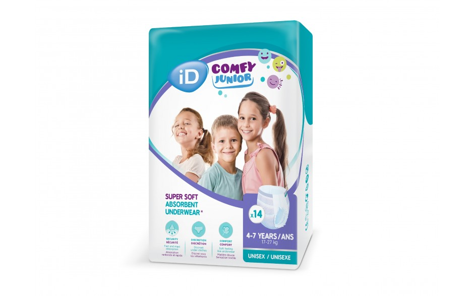 iD comfy Junior Pants 4-7 years