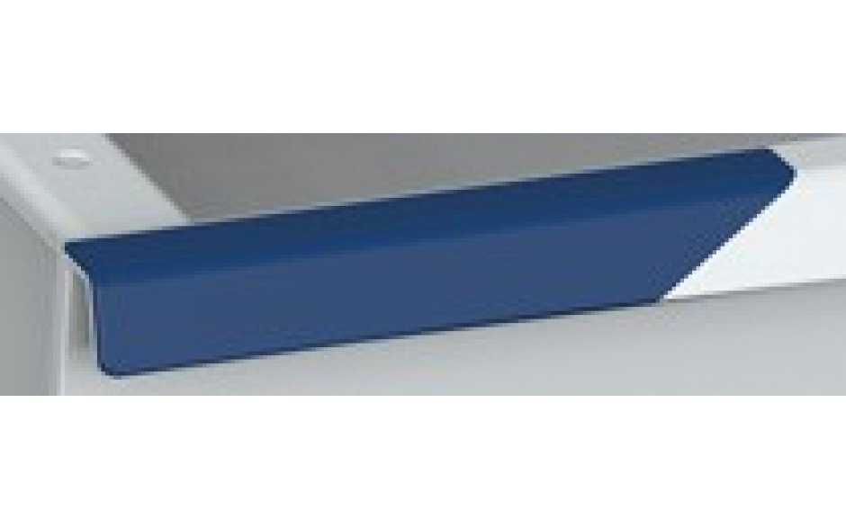Schublade aus pulverlackiertem Stahl 1 Modulhöhen