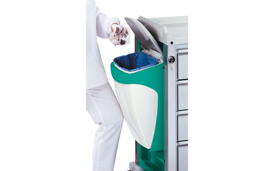 Wäschesammler mit Abfallsammler