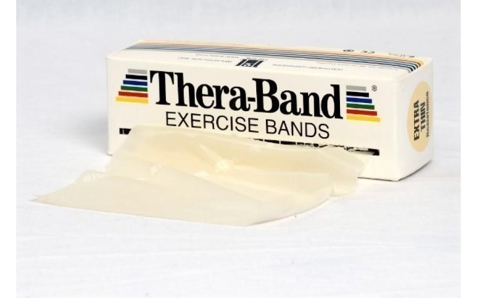 Thera-Band Übungsband, 5,5 m, extraleicht/beige