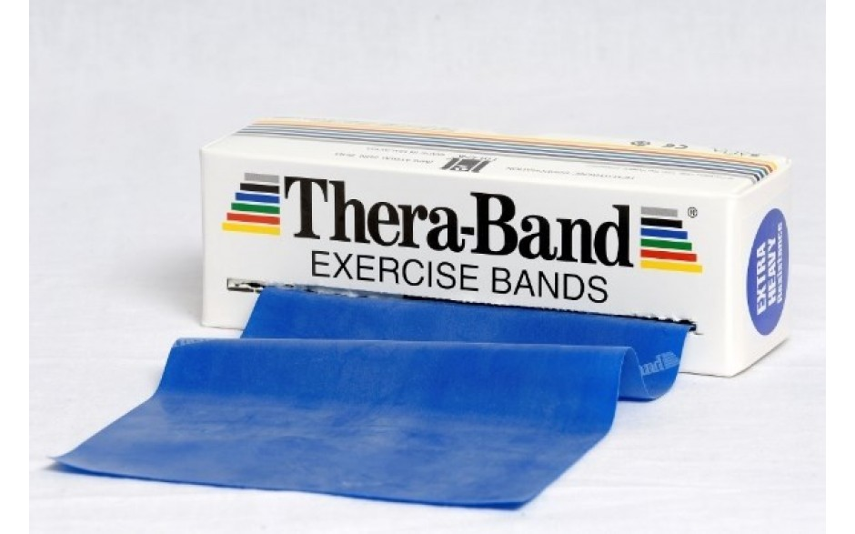 Thera-Band Übungsband, 5,5 m,extrastark/blau
