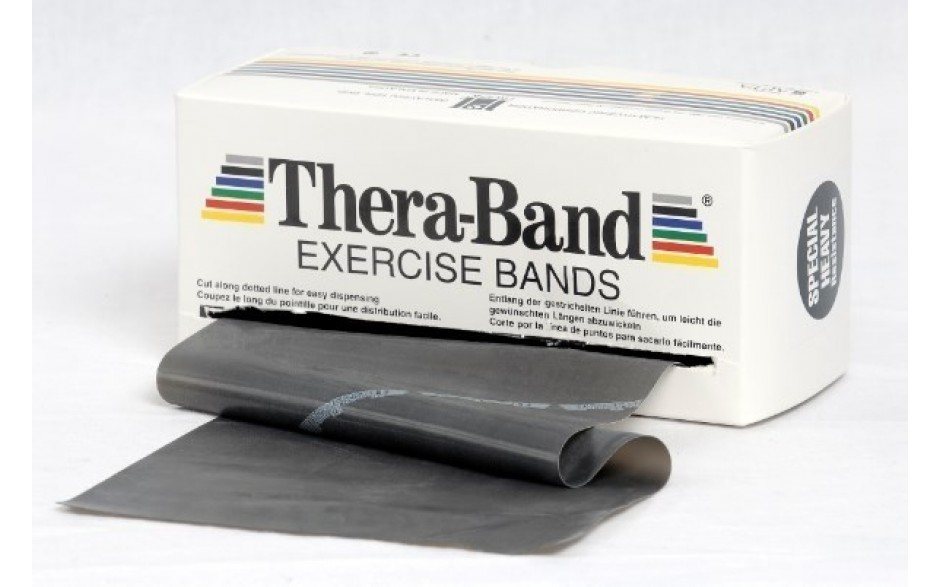 Thera-Band Übungsband, 5,5 m, spezialstark/schwarz