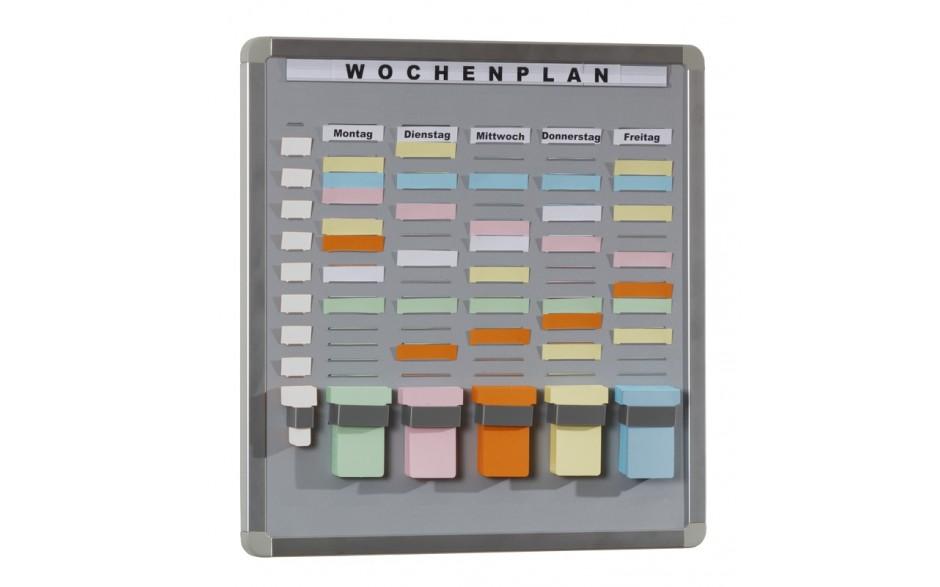 T-Card Systemtafel mit 20 Fächern / 5 Reihen