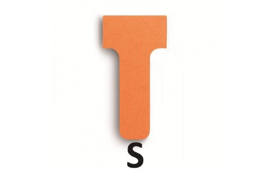 T-Karten, unbedruckt in Größe S und unterschiedlichen Farben