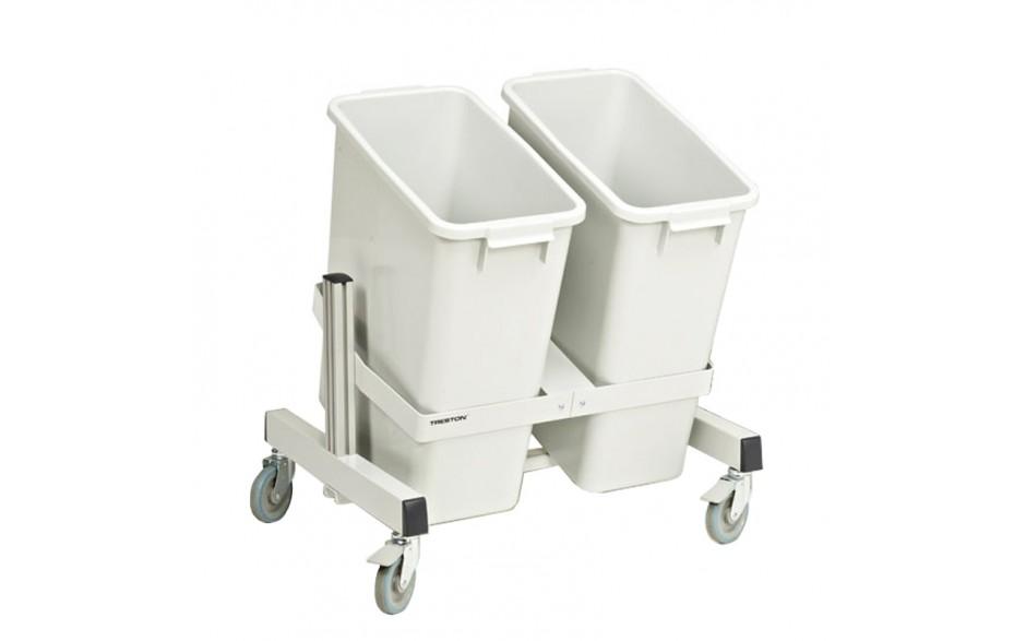 Recyclingmaterial-Wagen_zwei
