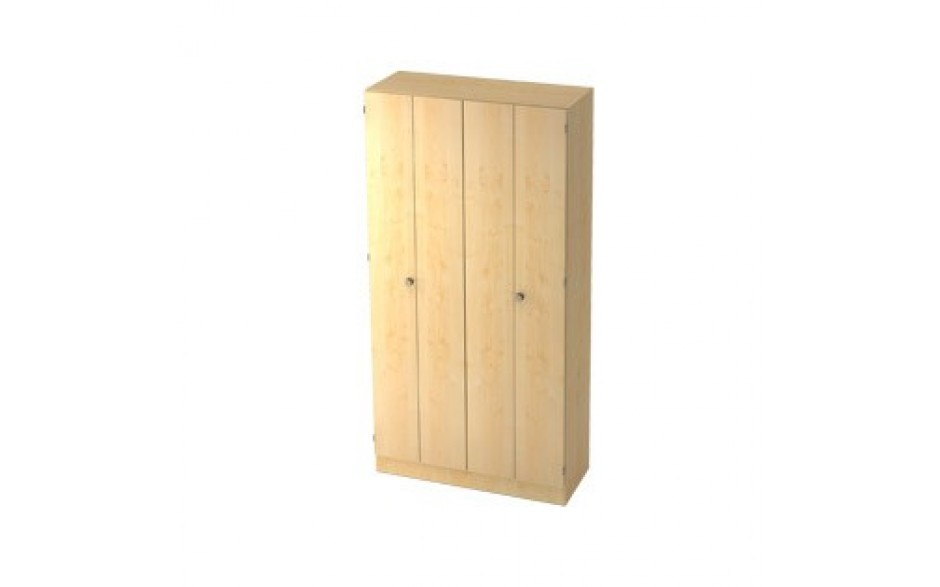 Falttürenschrank 5 OH nicht abschließbar 100 x 42 x 200,4 cm