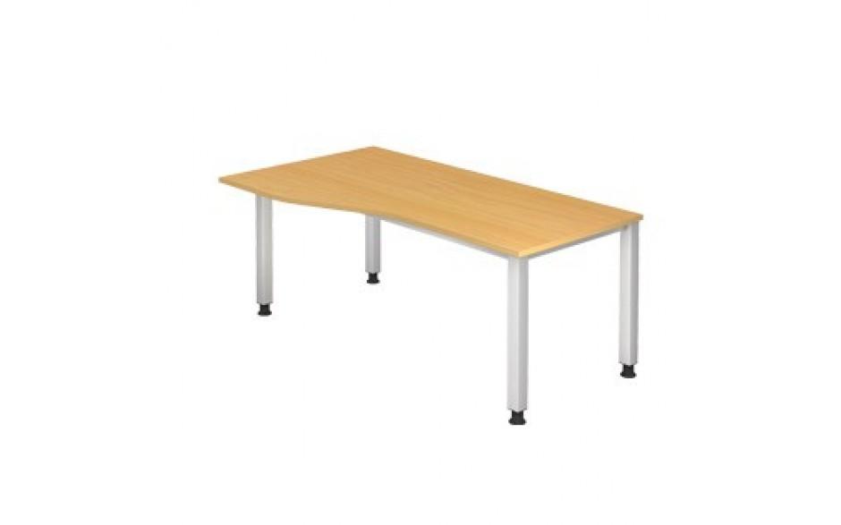 Schreibtisch Q-Serie 180x100 li/re montierbar