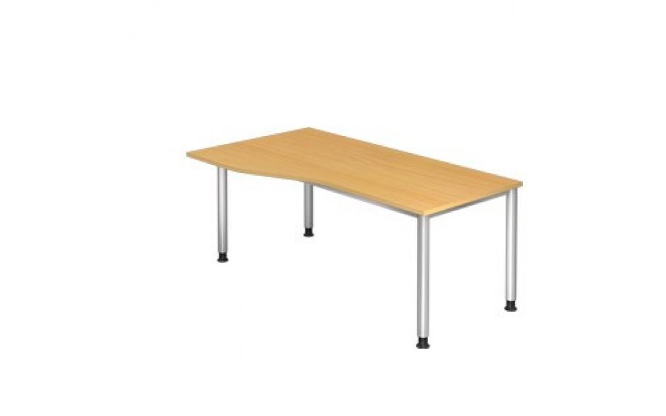 Schreibtisch H-Serie 180x100 li/re montierbar