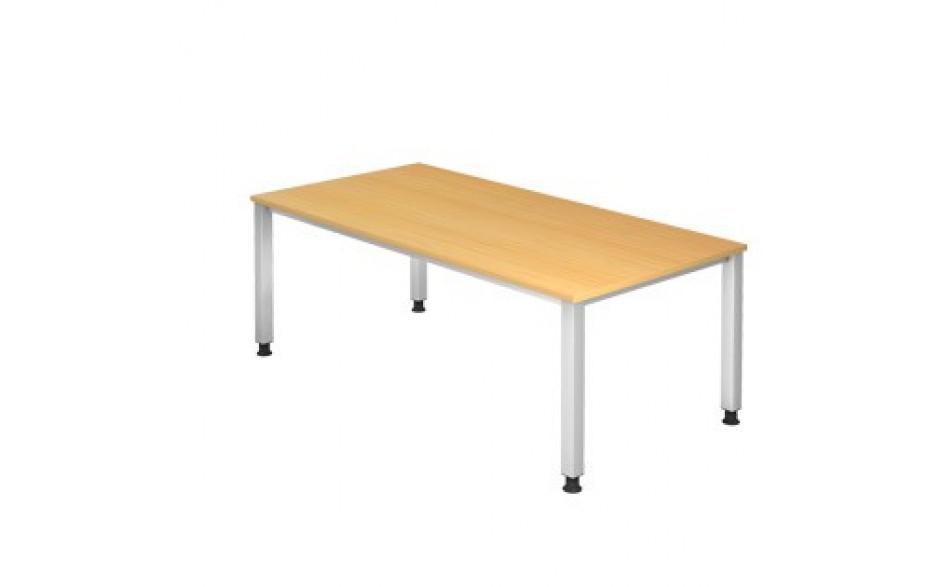 Schreibtisch Q-Serie 200x100 nicht verkettbar