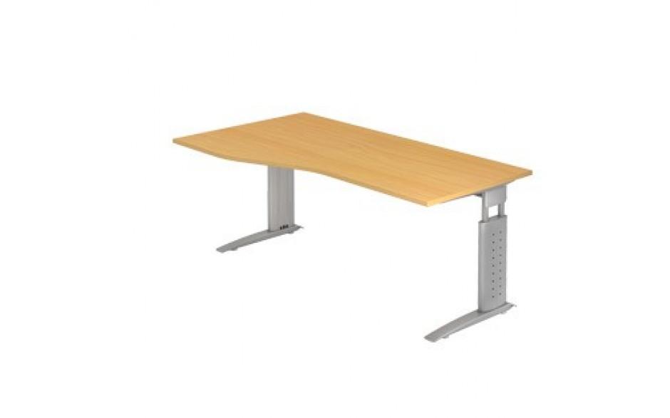 Schreibtisch U-Serie 180x100 li/re montierbar