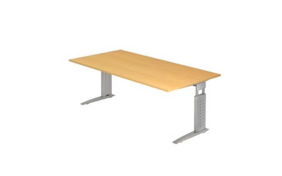 Schreibtisch u serie 200x100 nicht verkettbar standard for Schreibtisch 200x100