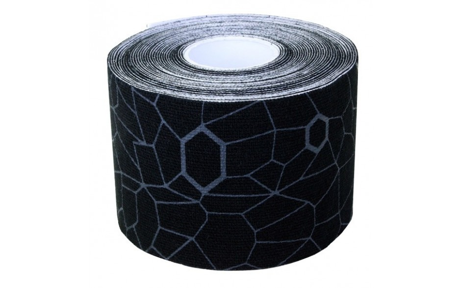 Thera-Band Kinesiology Tape, 5 m, schwarz/grau