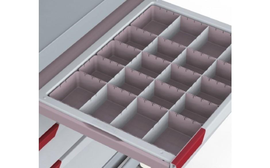 Teiler für Schubladeneinsatz, Mod. V4-1M und V42