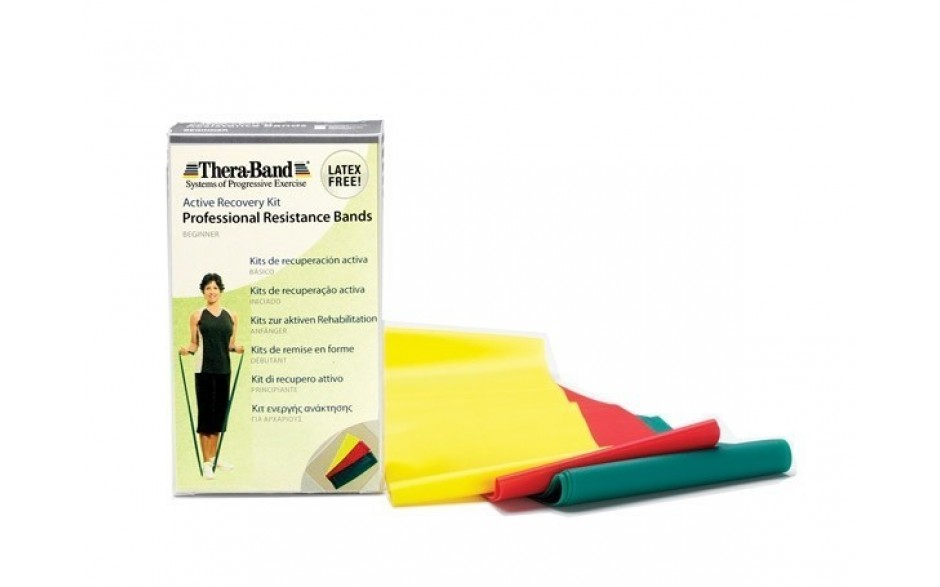 Thera-Band latexfreie Übungsbänder 3-er Set