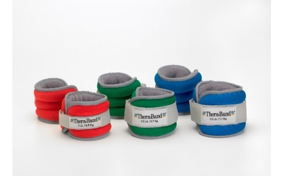 Thera-Band Gewichtsmanschetten in 3 Gewichtsvarianten