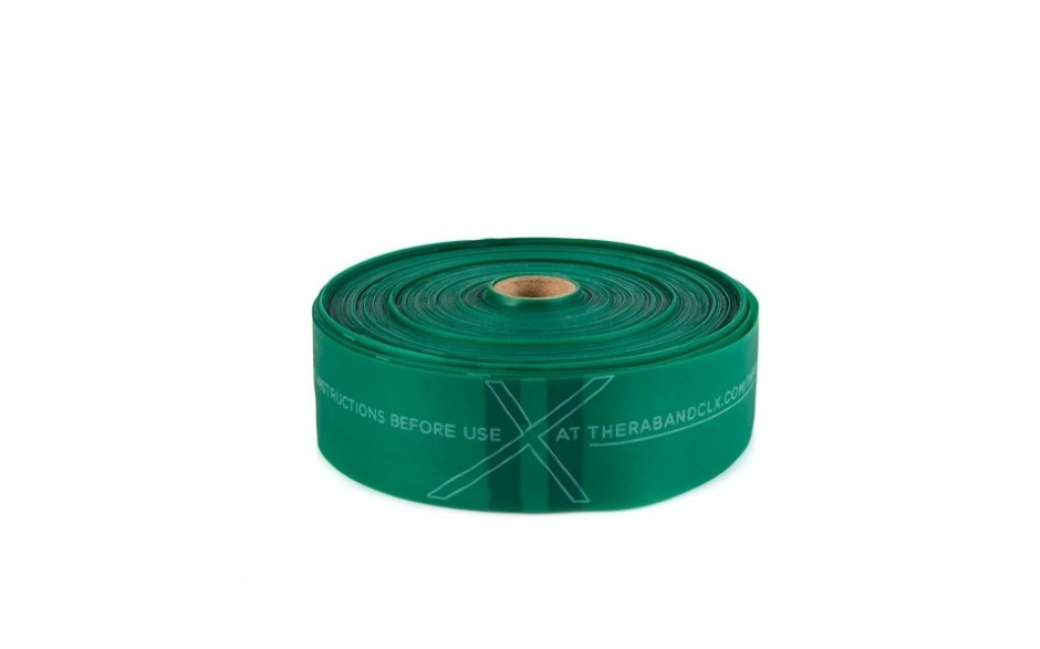 Thera-Band CLX Rolle Widerstandsstufe stark/grün - Länge 22 m