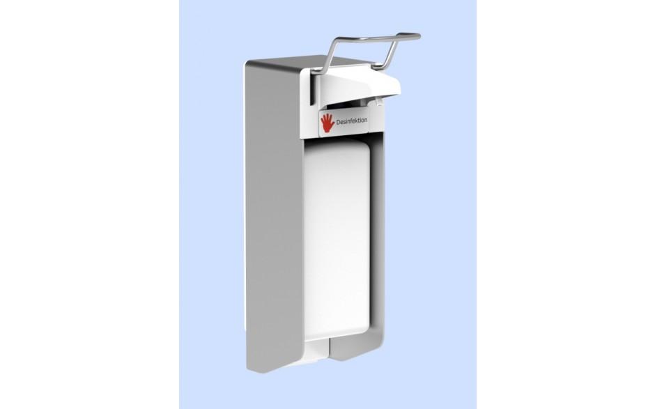 Desinfektionsmittelspender UNI-PRO mit Kunststoffpumpe für 1.000-ml-Flaschen
