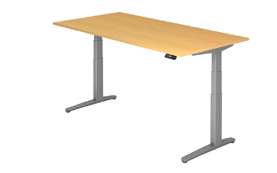 Steh-Sitz-Tisch XBHM-Serie 200 x 100 cm