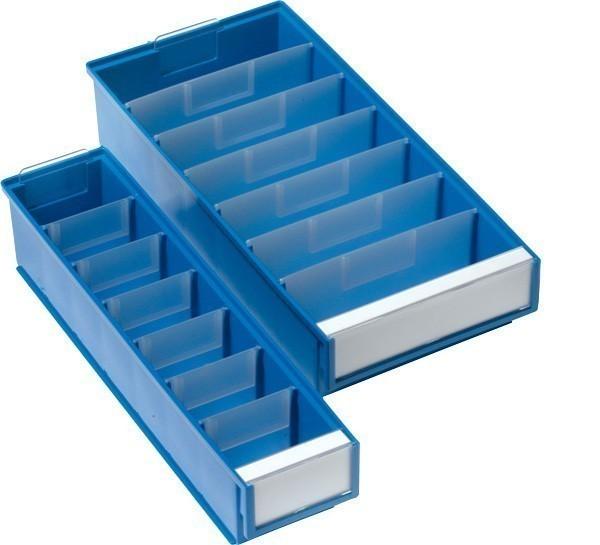 Breite Medikamentenbox mit Teilern